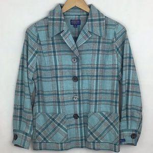 PENDLETON Wool Plaid Lightweight Jacket